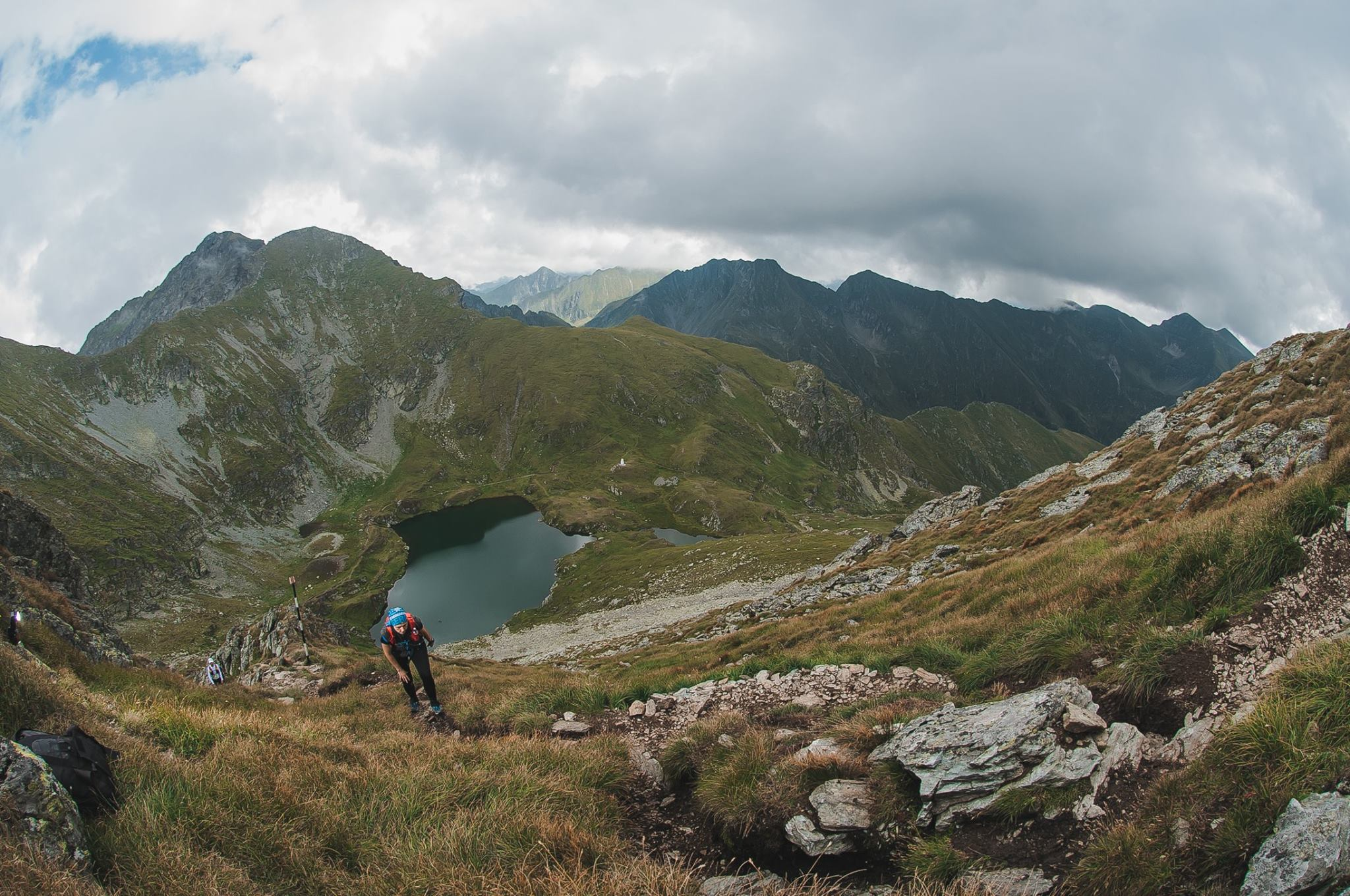 View of Balea Lake. Photo credit: Hila Tibi
