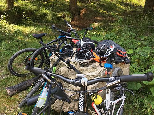 Bikeys! Explore Romania By Cycling. En route to Cabana.