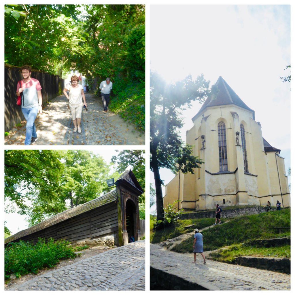 Sighisoara. Church on the hill