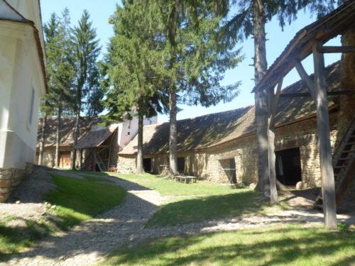 Criț. Fortified Church