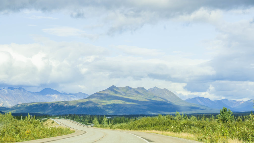 Parks Highway, Anchorage to Denali National Park, Alaska