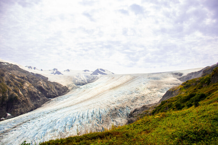 Up Close and Personal with the Exit Glacier.