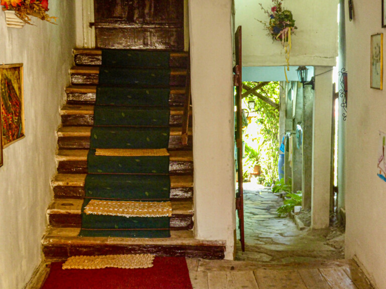 Entrance of a guest house