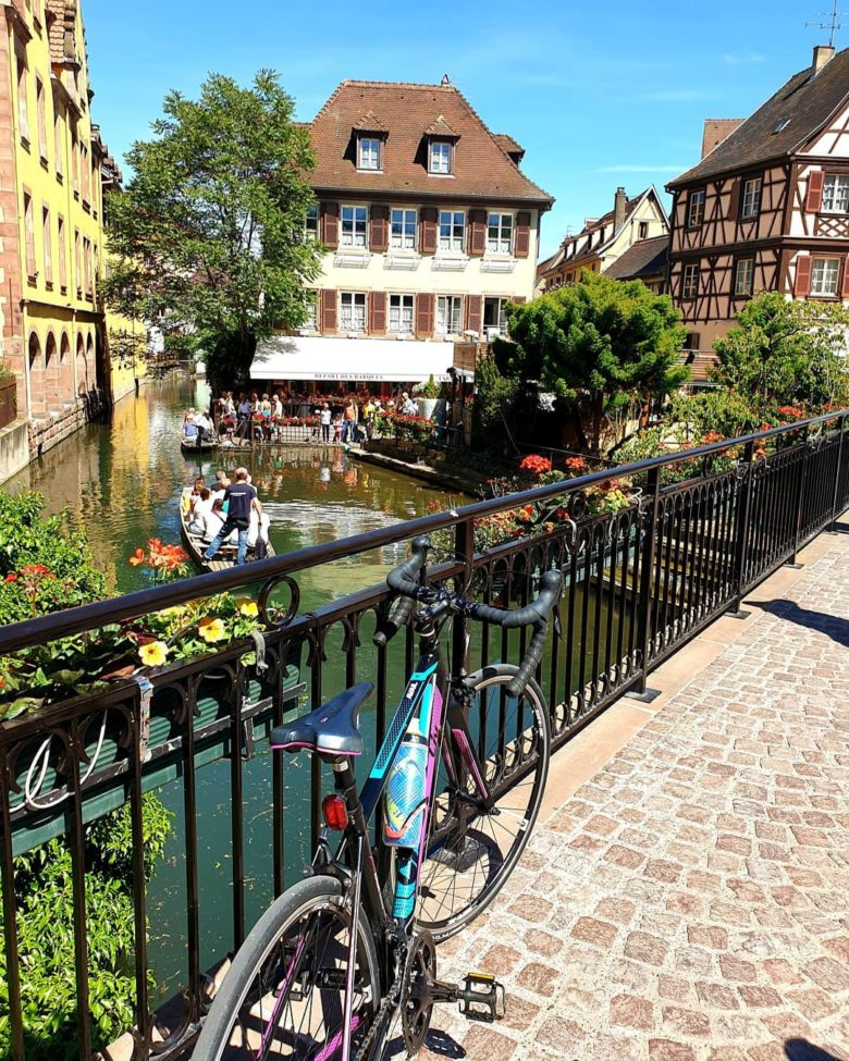 Little Venise in Colmar. June 2019